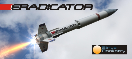 Sirius Rocketry Eradicator